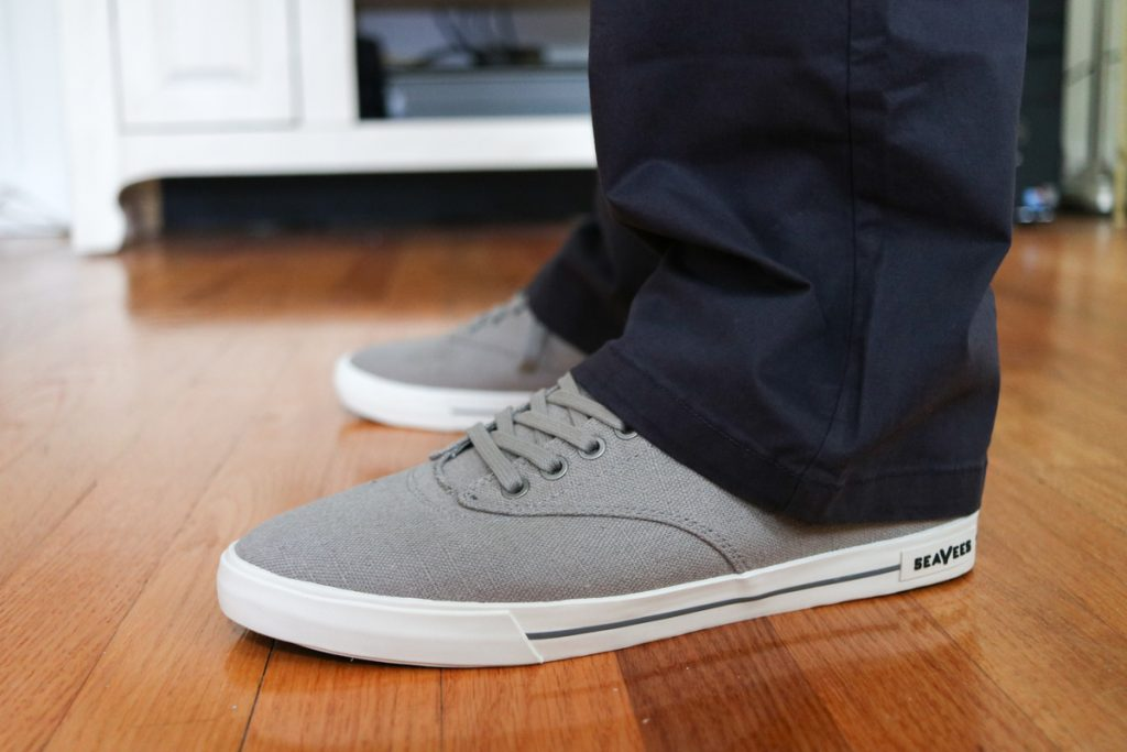 Hermosa Plimsoll Sneaker by SeaVees - Stitch Fix Men review