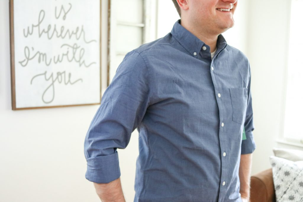 Essential Wash Long Sleeve Shirt by Hawker Rye - Stitch Fix Men review