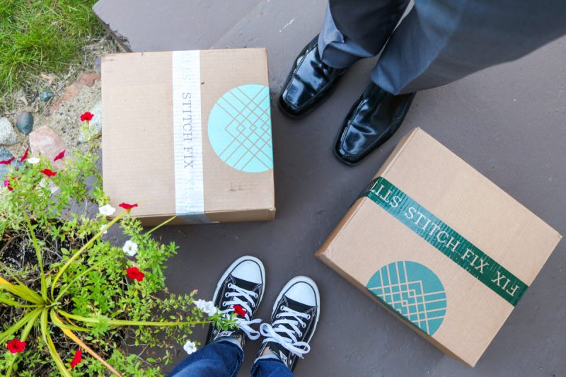Stitch Fix | Stitch Fix Men | married couple Stitch Fix boxes | Crazy Together blog