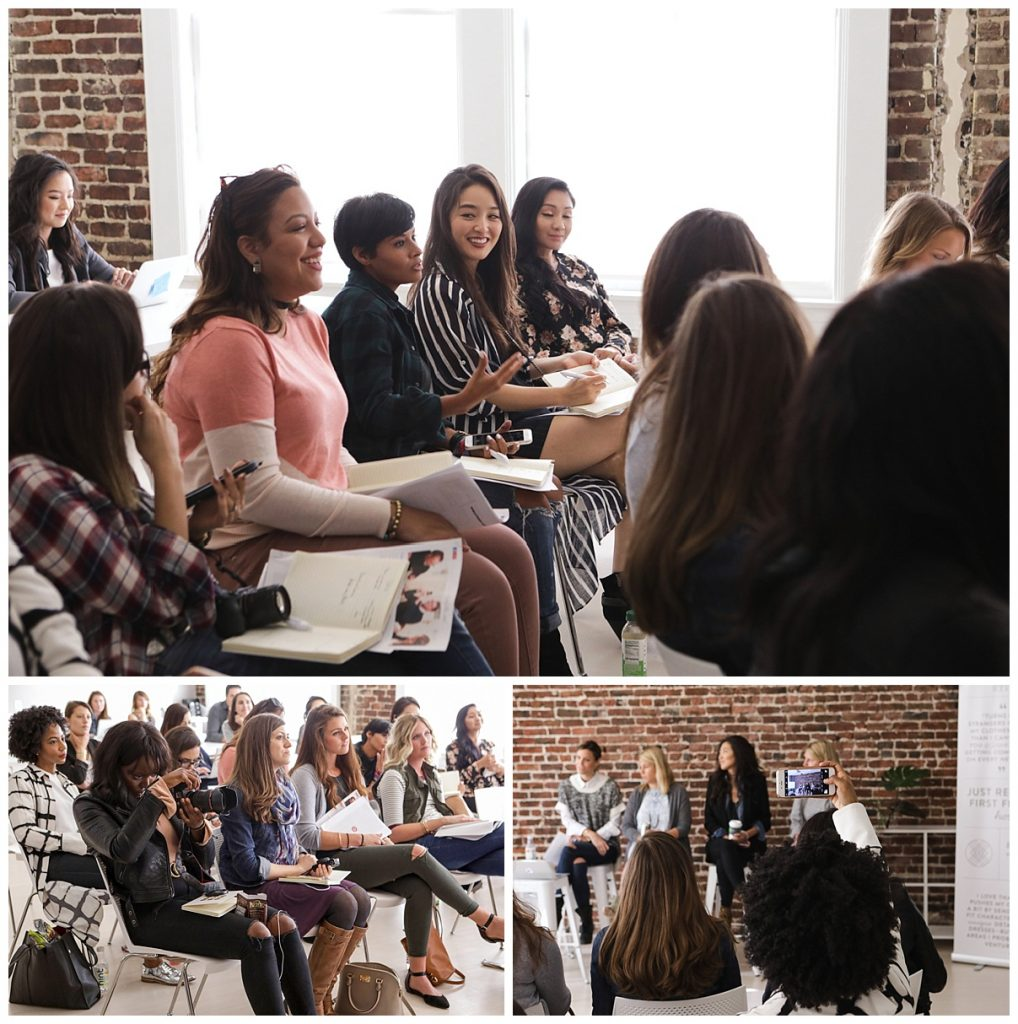 bloggers visit Stitch Fix headquarters in San Francisco