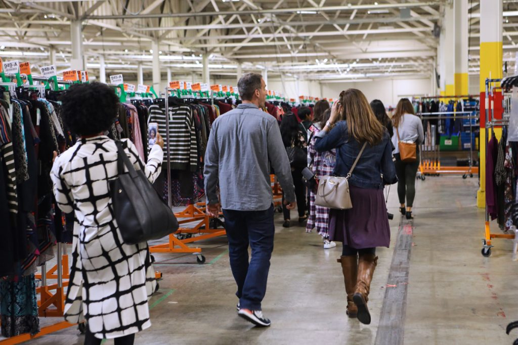 Stitch Fix warehouse tour