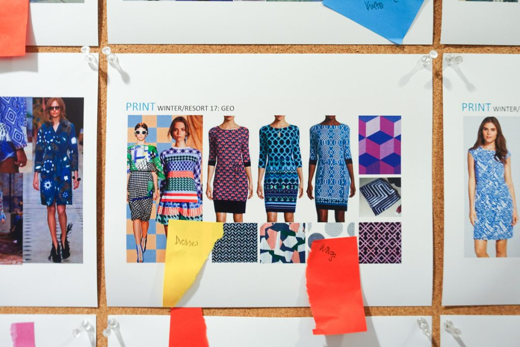 Stitch Fix inspiration wall