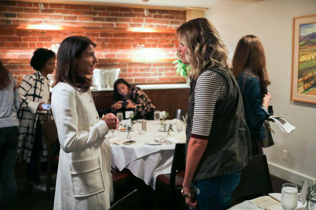 Stitch Fix lunch with executives