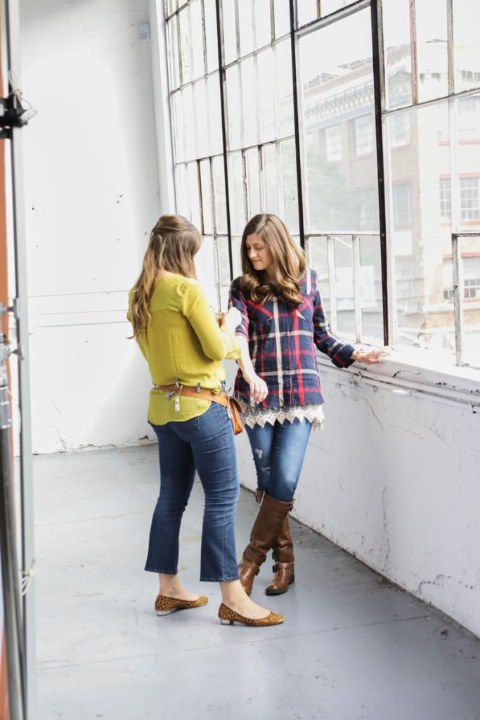 Stitch Fix photo shoot