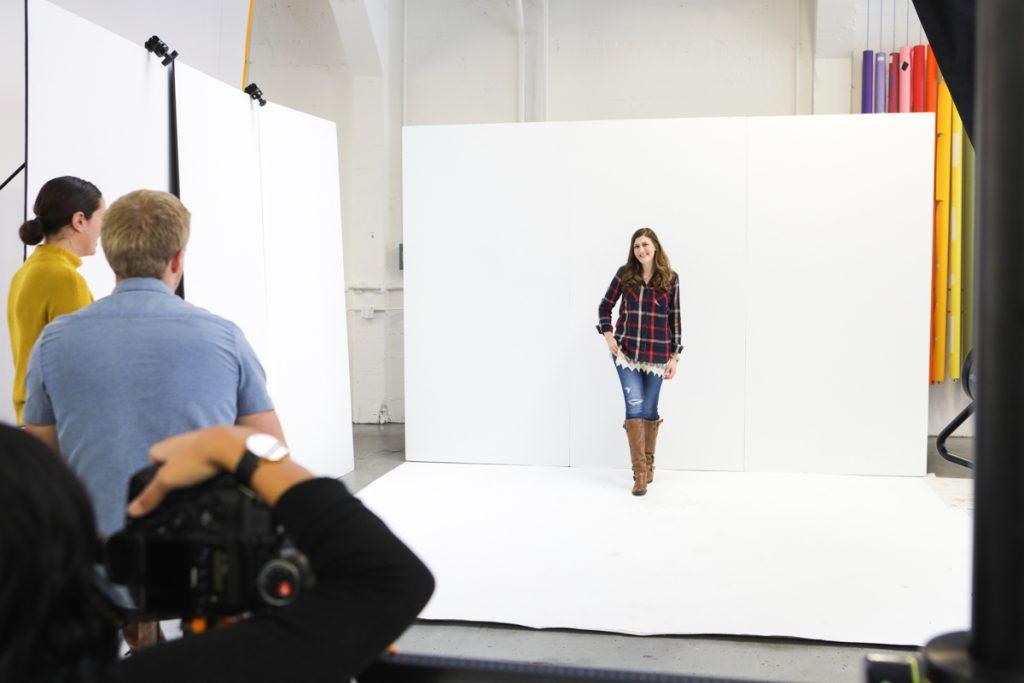 Maria Gavin Stitch Fix photo shoot
