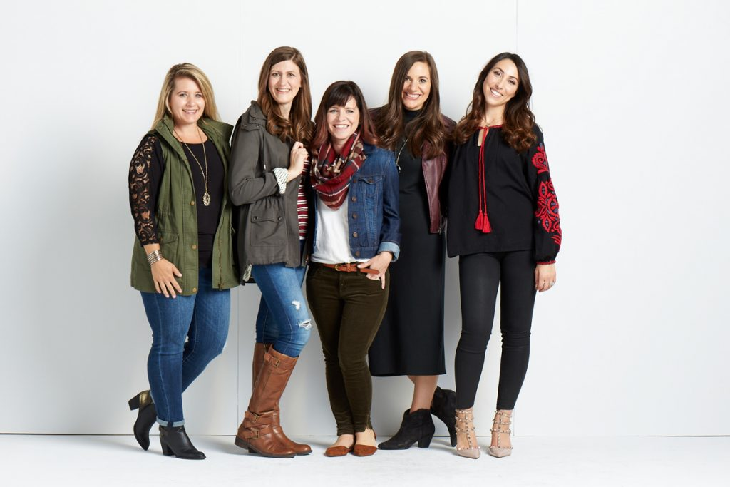Maria Gavin with Stitch Fix Stylists - Tastemakers Event