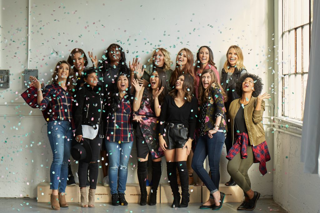 Fashion bloggers at the Stitch Fix Tastemakers Event