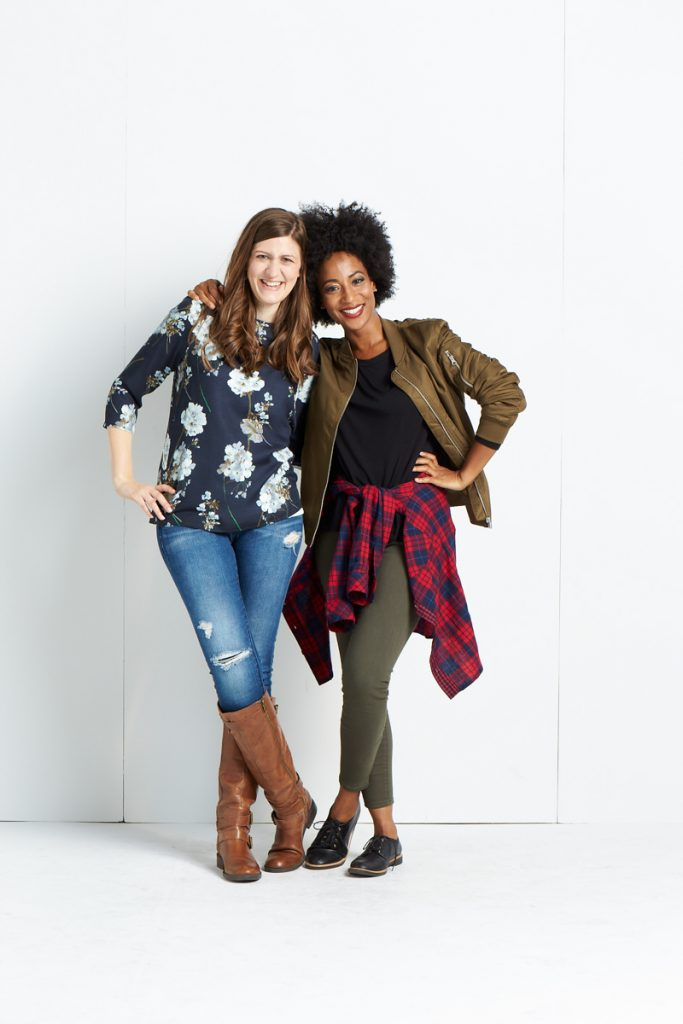 Maria Gavin and Africa Miranda - Stitch Fix Tastemakers Event