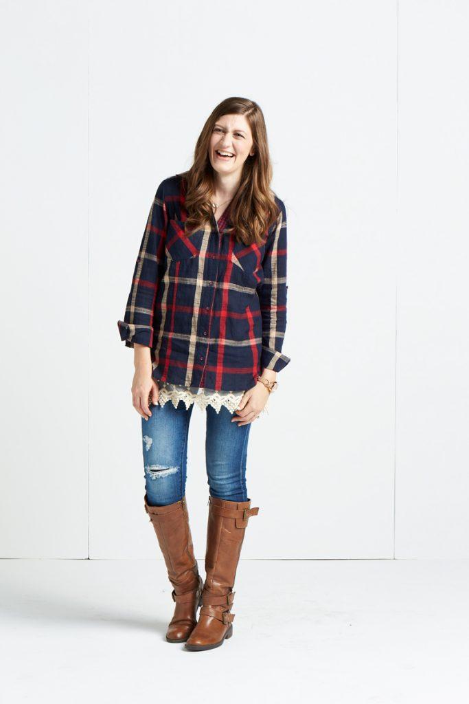 Stitch Fix fall photo shoot