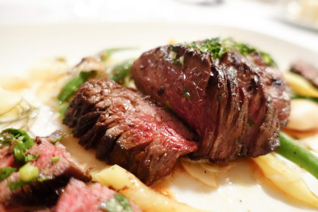 steak at Perbacco in San Francisco