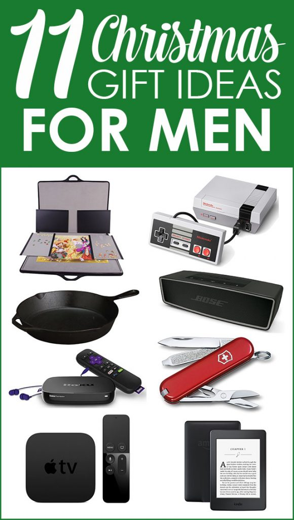 Gift guide for men - 11 great gift ideas for the man in your life