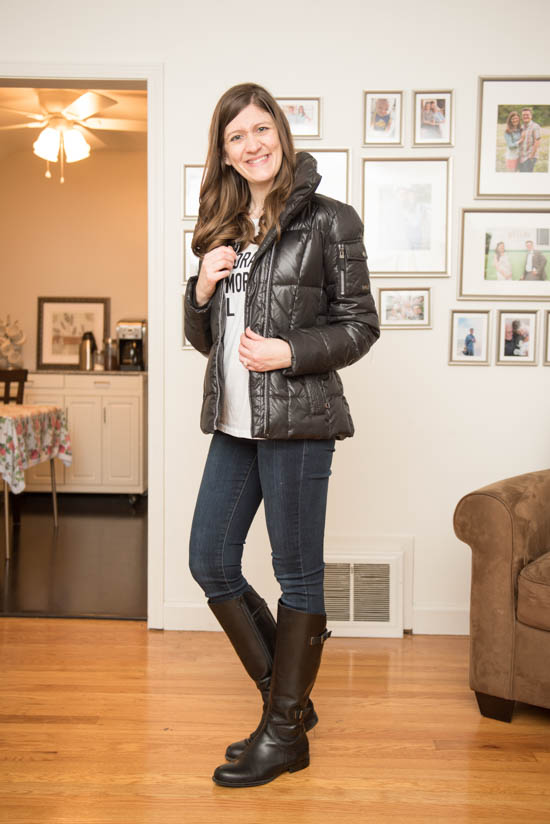 Holen Puffer Jacket from Marc New York - January 2016 Stitch Fix Review - Crazy Together