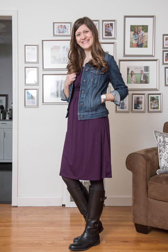 Kamile Knit Maternity Dress from Gilli | Stitch Fix | Stitch Fix Styles | Stitch Fix Maternity | February 2017 Stitch Fix Review