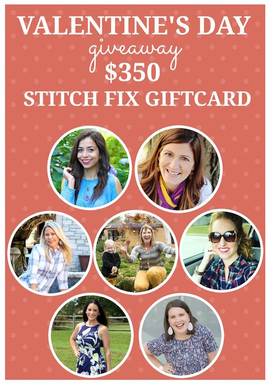 $350 Stitch Fix giveaway!