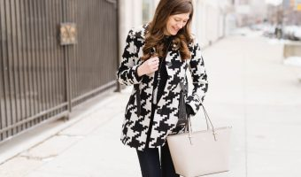 Black and White Winter Chic