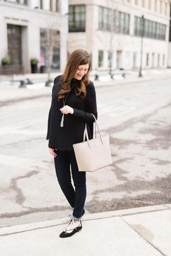 Black and White Winter Chic | Crazy Together fashion and lifestyle blog