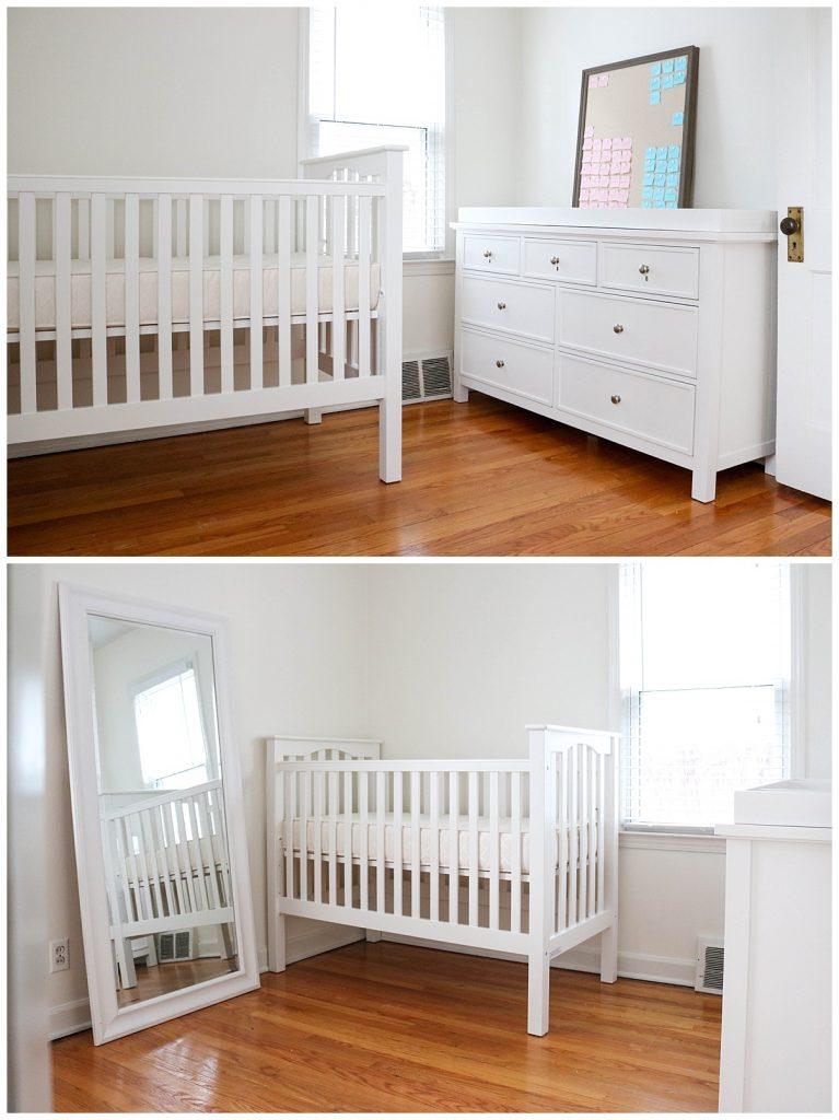 simple neutral nursery in progress