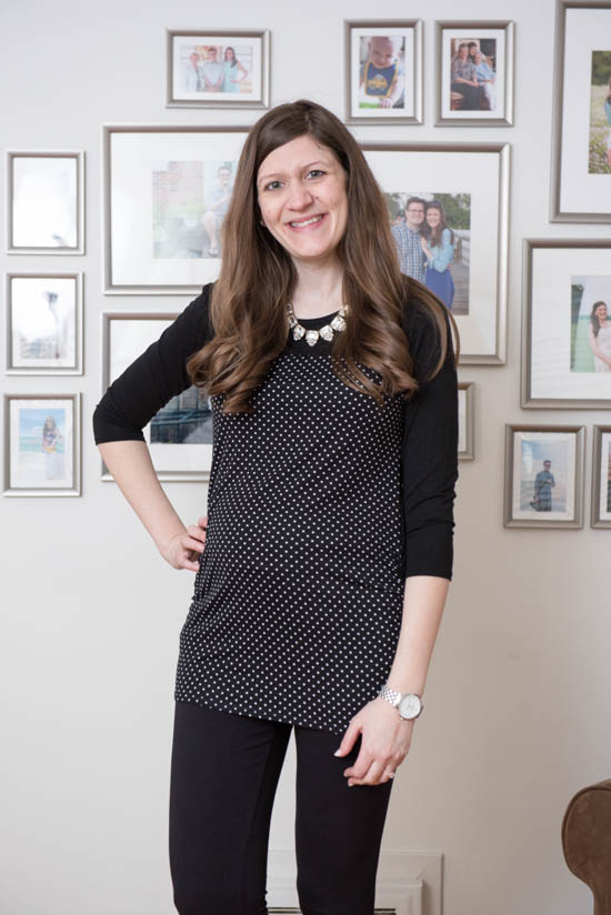 Medford Maternity Knit Top from Loveappella Maternity | Stitch Fix Review - April 2017 | Stitch Fix Maternity | Stitch Fix style | Stitch Fix clothes | Crazy Together blog