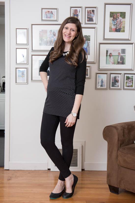 Medford Maternity Knit Top from Loveappella Maternity | Stitch Fix Review - April 2017 | Stitch Fix Maternity | Stitch Fix style | Stitch Fix clothes | Crazy Together blog
