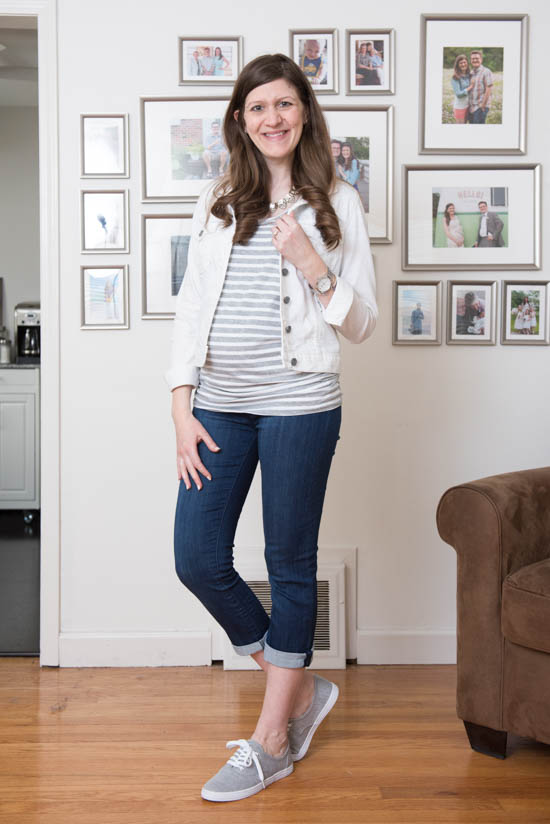 Mirabella Maternity Capri Skinny Jean from Liverpool | Stitch Fix Review - April 2017 | Stitch Fix Maternity | Stitch Fix style | Stitch Fix clothes | Crazy Together blog