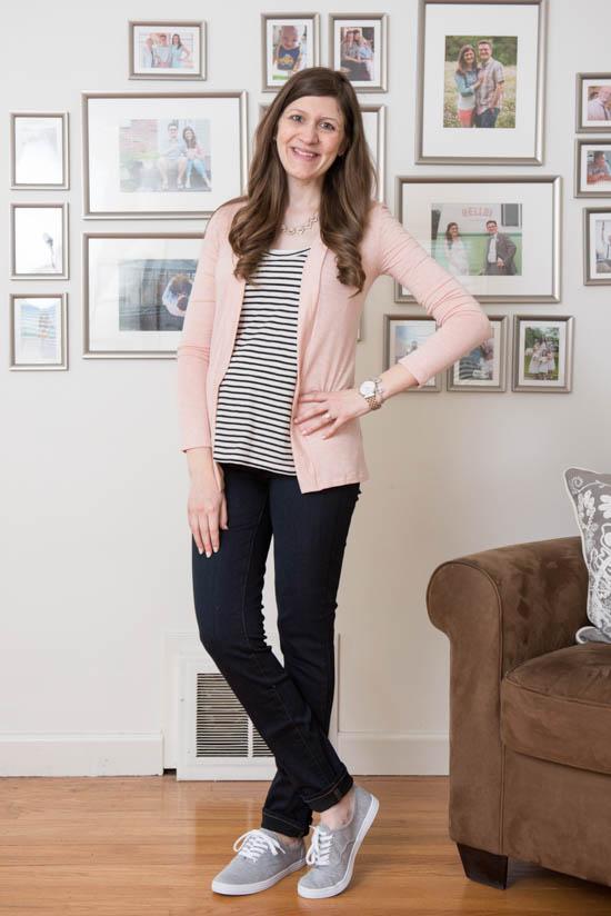 Lauderdale Knit Cardigan from Market & Spruce | Stitch Fix Review - April 2017 | Stitch Fix Maternity | Stitch Fix style | Stitch Fix clothes | Crazy Together blog