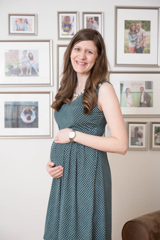 Razi Maternity Aline Dress from Le Lis | Stitch Fix Review - April 2017 | Stitch Fix Maternity | Stitch Fix style | Stitch Fix clothes | Crazy Together blog