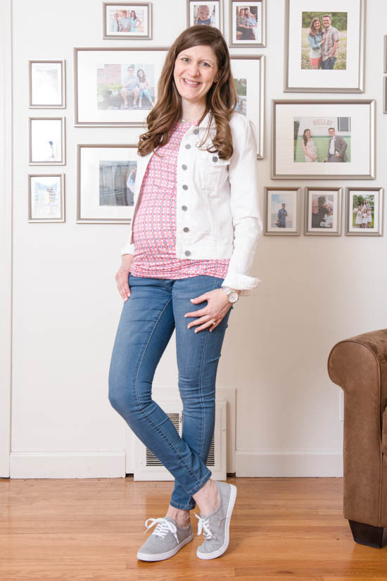Lynn Maternity Knit Top | May maternity Stitch Fix review | Stitch Fix | Stitch Fix blogger | Stitch Fix clothes | Crazy Together blog