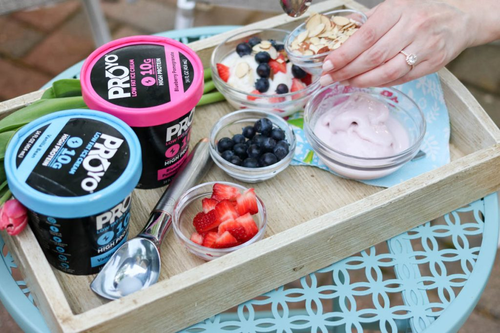 Enjoy a summertime treat with ProYo High Protein Low Fat Ice Cream