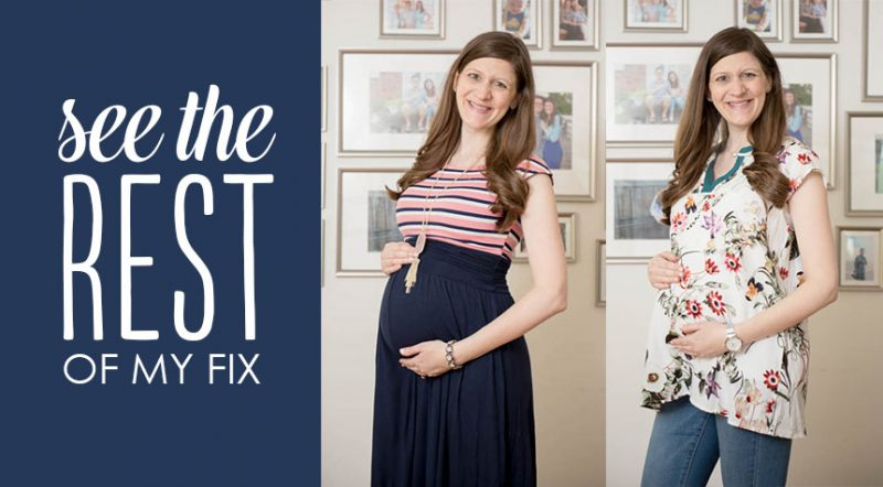 June Stitch Fix Maternity Review   Crazy Together blog