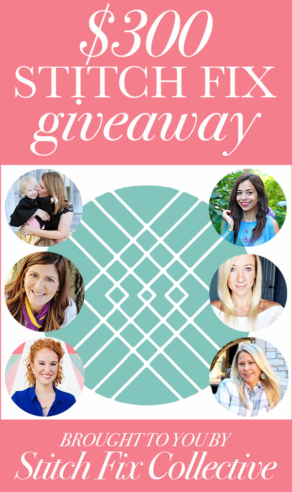 Enter to WIN a $300 Stitch Fix gift card!