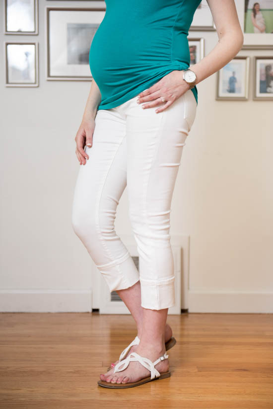 Kent Maternity Capri Skinny Jean from Lila Ryan | June Stitch Fix Maternity Review | Crazy Together blog