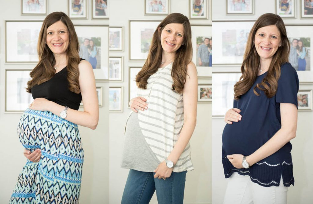July Stitch Fix maternity review | Crazy Together blog