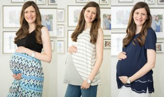 My Nine Month Maternity Fix</br> Stitch Fix Review #50