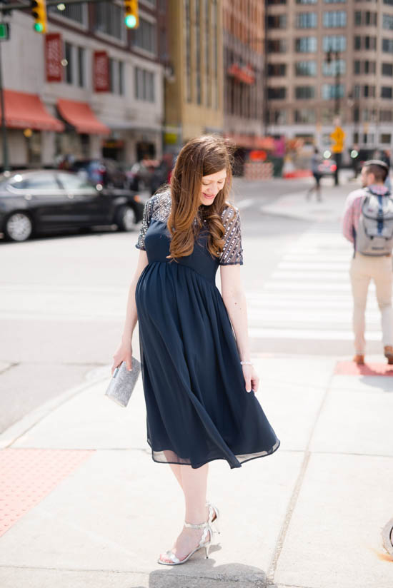 where to find the best special occasion maternity dresses | ASOS maternity dress | maternity fashion blogger | crazy together blog