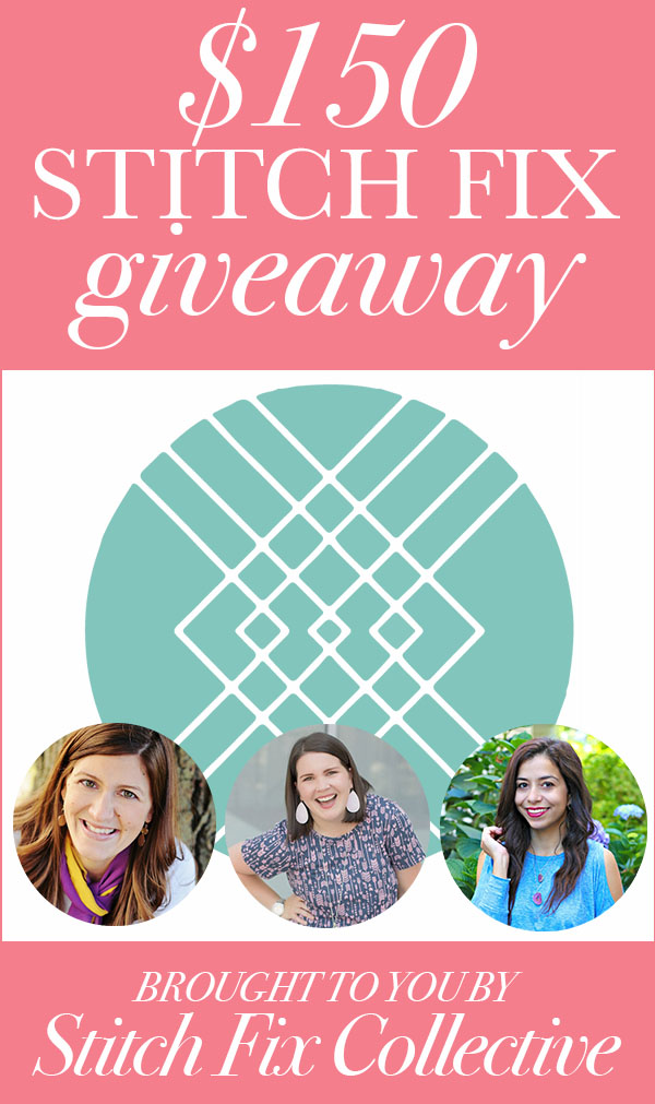 Enter to WIN a $150 Stitch Fix gift card!
