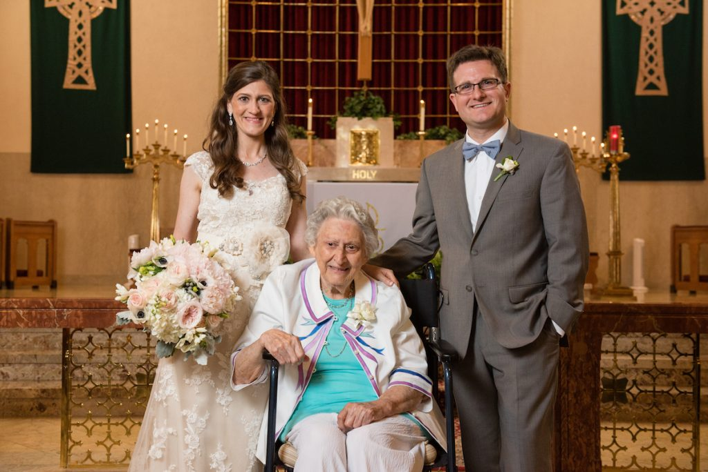 Maria, Rob and Odessa wedding photo