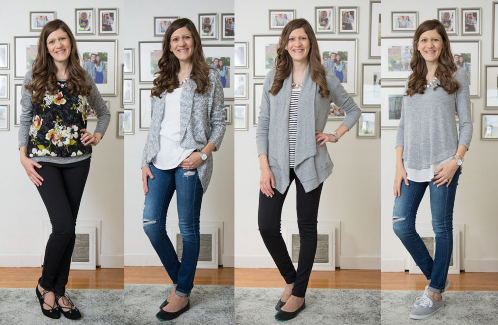 Ask your Stitch Fix stylist to help you build a capsule wardrobe with basic pieces that can be mixed and matched. Here's how to get started | Stitch Fix | Stitch Fix Clothes | Crazy Together Blog