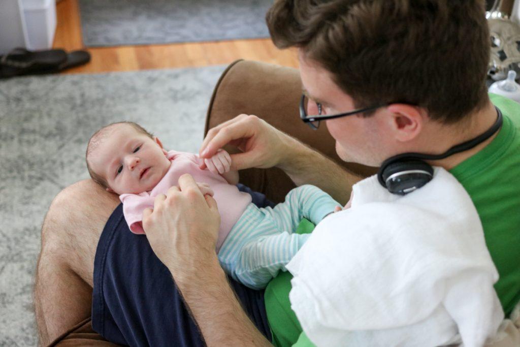 Fatherhood Reflections After 8 Weeks