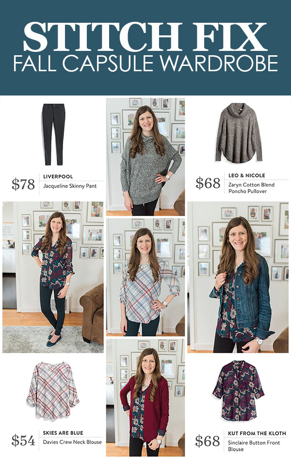 Create a fall capsule wardrobe with the help of your Stitch Fix stylist! | Stitch Fix style | stitch fix fashion | Crazy Together blog