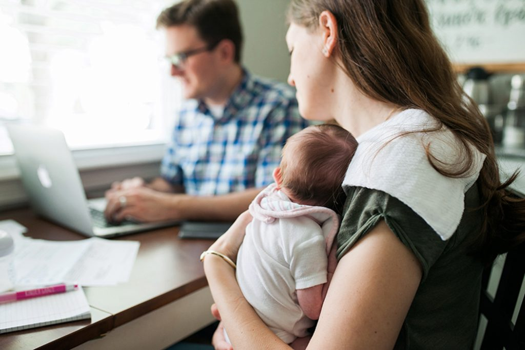 fitting a baby into the family budget the Dave Ramsey way | Crazy Together blog