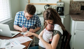 Fitting a Baby into the Family Budget