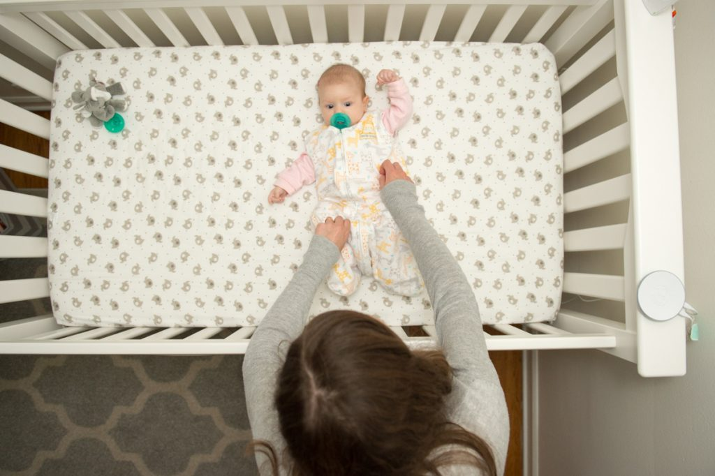 our infant bedtime routine to ensure a full night of sleep | Crazy Together blog