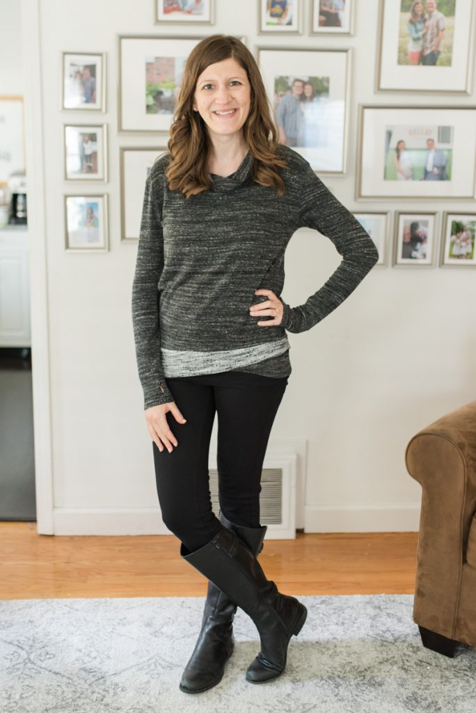 Layola Cowl Neck Knit Pullover from Laila Jayde | Fall Stitch Fix review | Stitch Fix clothes | fashion blog | Stitch fix sweaters | Crazy Together blog
