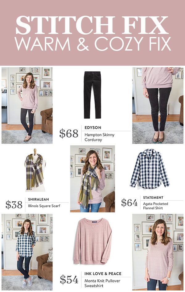 warm and cozy winter fix| December Stitch Fix review | Stitch Fix clothes | Crazy Together blog