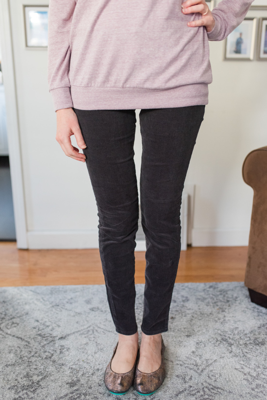 Hampton Skinny Corduroy by Edyson | warm and cozy winter fix | Stitch Fix clothes | Crazy Together blog