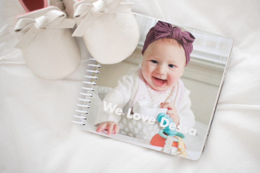 custom photo board book from Pinhole Press | baby gift ideas | Crazy Together blog