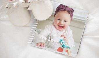 Custom Photo Board Book Baby Gift