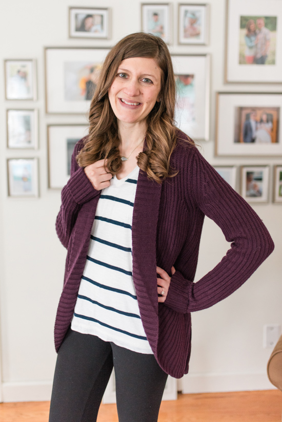 Candria Ribbed Shawl Cardigan from Pixley | Stitch Fix Clothes | January Stitch Fix Review | Crazy Together blog