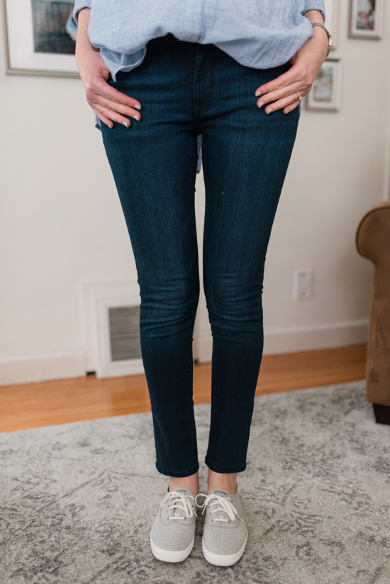 Try Stitch Fix Luxe and get luxury DESIGNER brands hand-picked by your personal stylist! | Moscow Skinny Jean from DL1961 | Stitch Fix clothes | Crazy Together blog