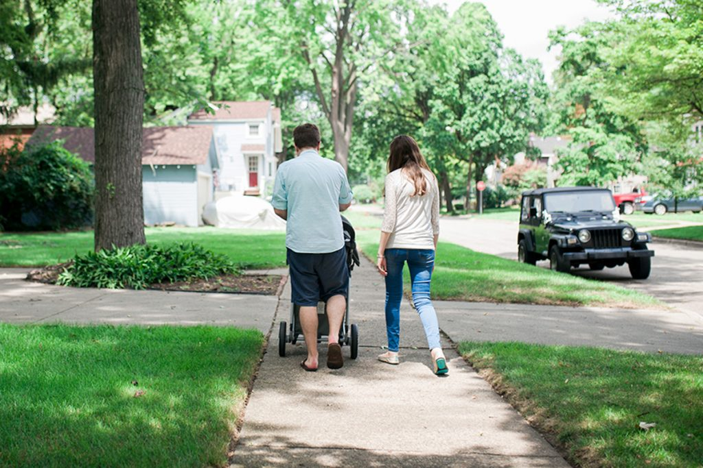 neighborhood walk | Crazy Together blog